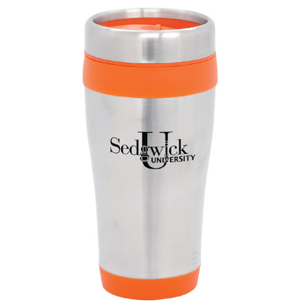 Item #MG-403 Stainless Steel Tumbler w/ plastic liner