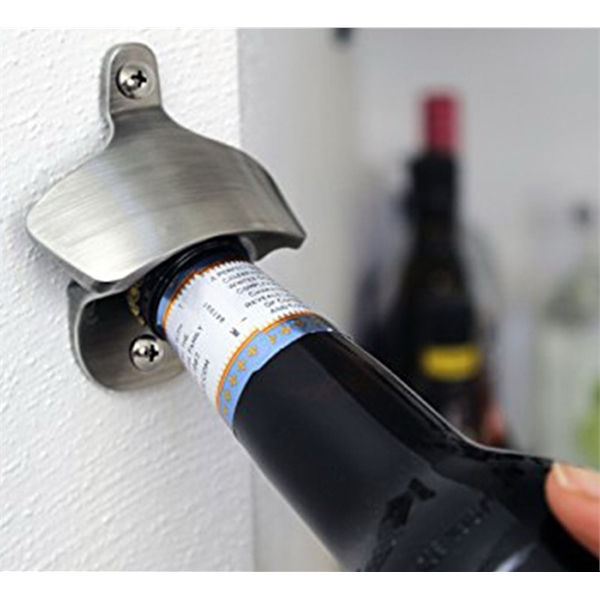 Item #BO030 Wall Mounted Bottle Opener