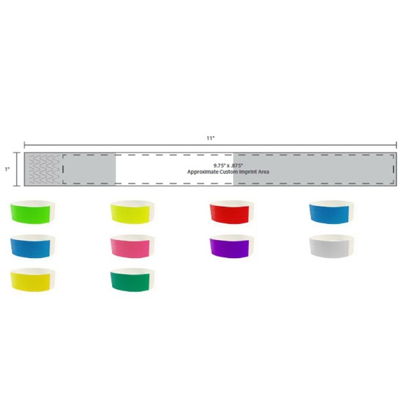 Direct Thermal Stock Color Wristband