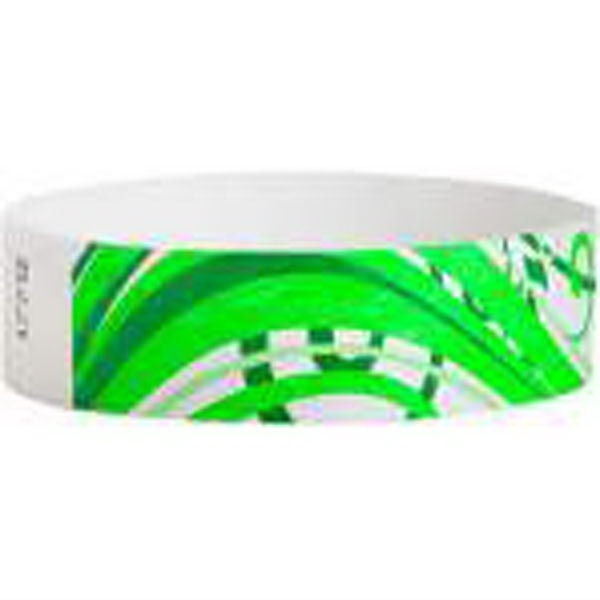 "Item #T3D-85 Tyvek® 3/4"" Design Nature Wristband"