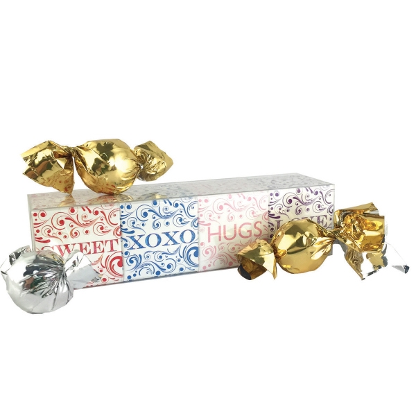 Item #4CUBE 4 Cube Acetate Gift Box with Truffles