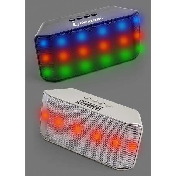 Item #6159 LED Lighted Bluetooth Mobile Party Speaker