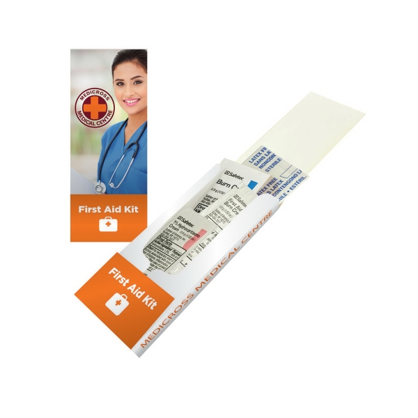Item #FIRSTAID-KIT-1 First Aid Pocket Kit - Band Aid, Cortisone, Burn