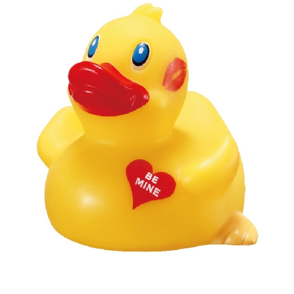 "Item #AD-8098 Rubber ""Be Mine"" Classic Duck"