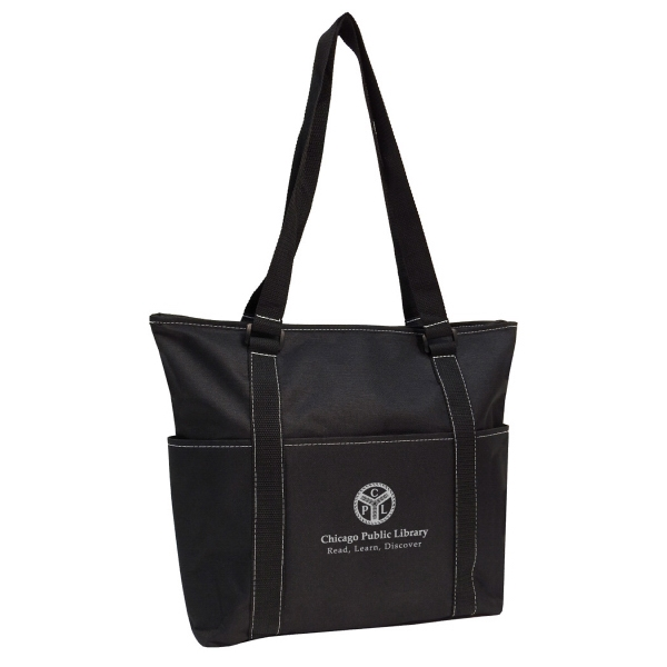 Item #B-6242 Poly Padded Tablet Tote Bag