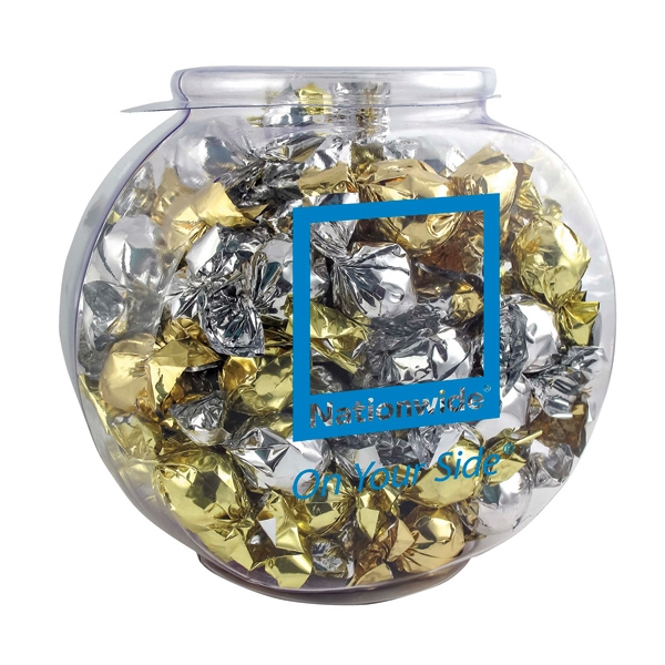 Item #PK-941-TWT Fish Bowl with Twist-Wrapped Truffles