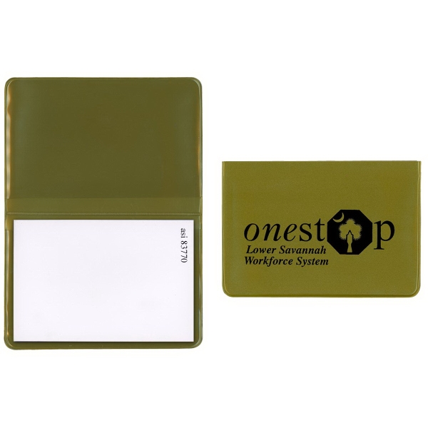 Item #790 Sticky Notepad - Standard Vinyl Colors