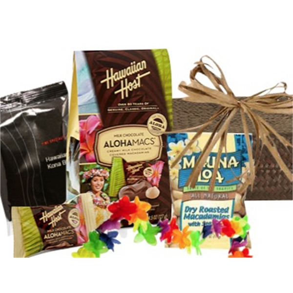 Item #1692201 Tropical Treats Gift Basket