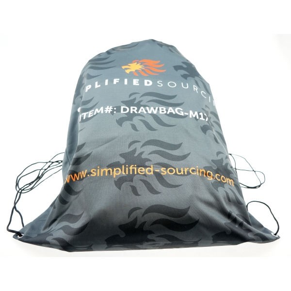 Item #BGFDS1618 Full Color Draw String Bag