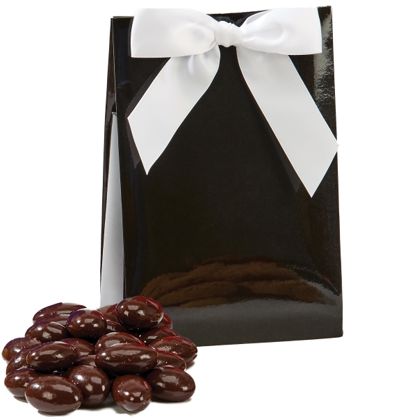 Item #GAL-BOX-ALMOND The Gala Box with Chocolate Covered Almonds