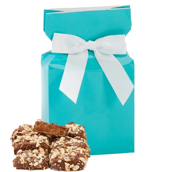 Item #OB1-E-ALMOND The Ovation Box with Almond Butter Crunch