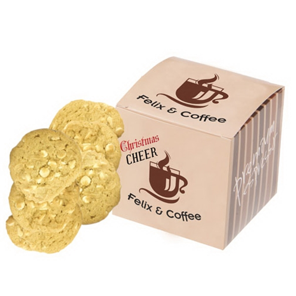 Item #CUBE-BAKERY Cube Box - Large Gourmet Chocolate Chip Cookies
