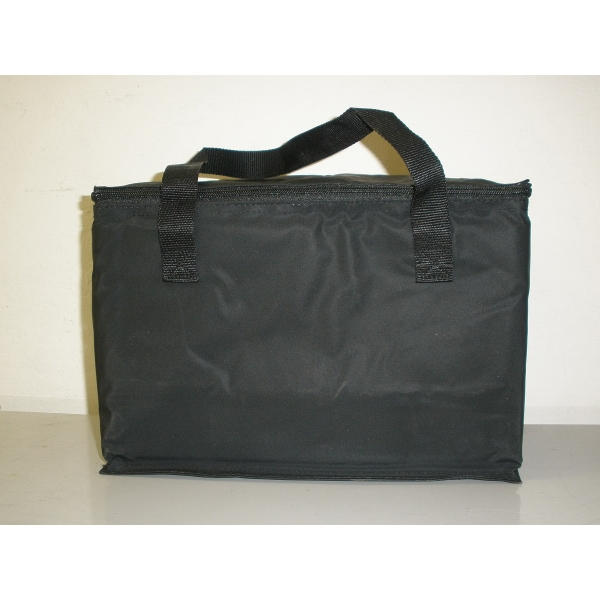Item #AW-001AC 12 Pack Nylon Cooler Bag w/ Foil Insulated Lining