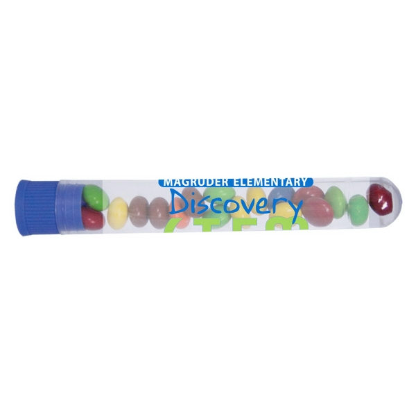 Item #TUBE-CHOCOLATE Test Tube Dispenser with Chocolate Littles - Bottle