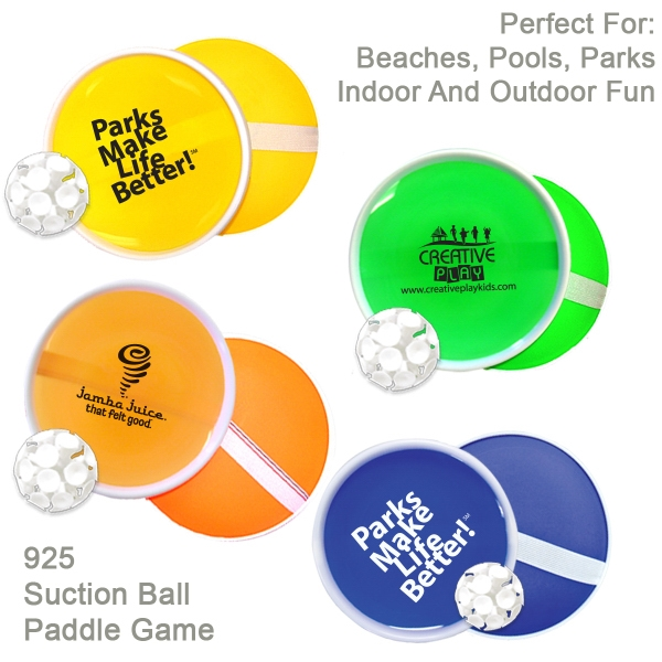Item #925 BEACH Paddle ball catch game