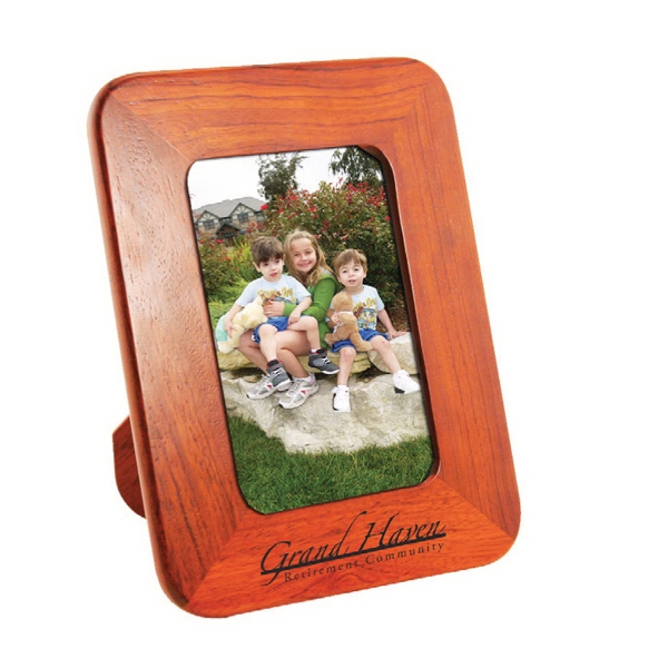 Item #AD-1149 4 x 6 Solid Wood Photo Frame With Easel Back