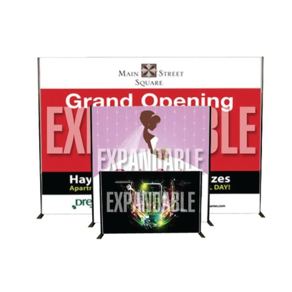 Item #AD-EX Banner with expandable stand