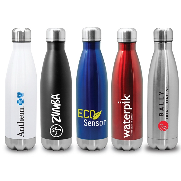 Item #SM505 Quench - Stainless Steel Cola Bottle