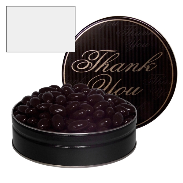 Item #GT1E-ALMONDS The Grand Tin with Chocolate Almonds