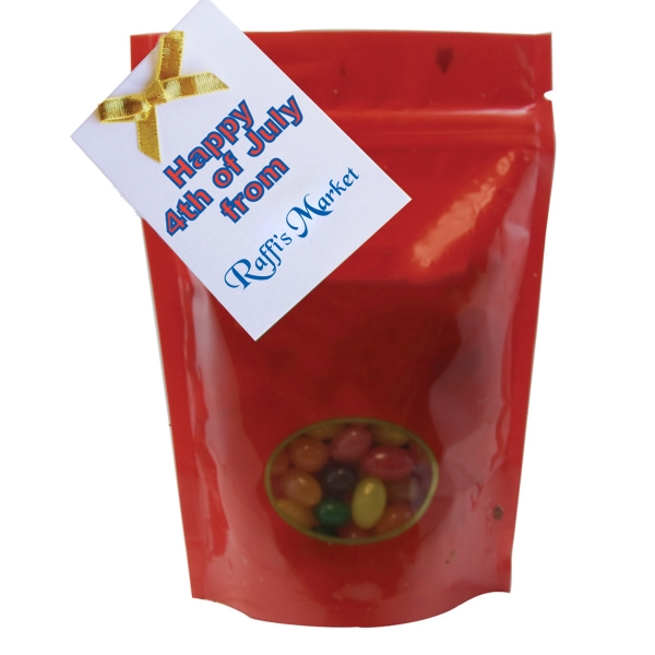 Item #WB2-JELLY Large Window Bag with Jelly Beans Candy