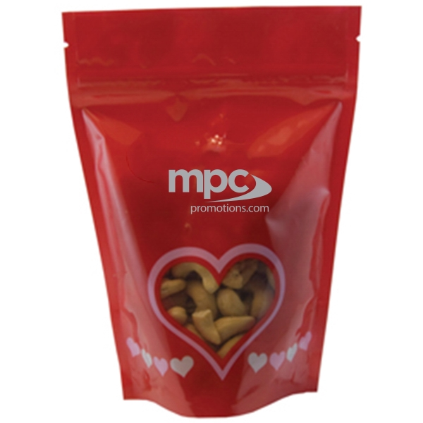 Item #WB2-CASHEWS Large Window Bag with Cashews Nuts