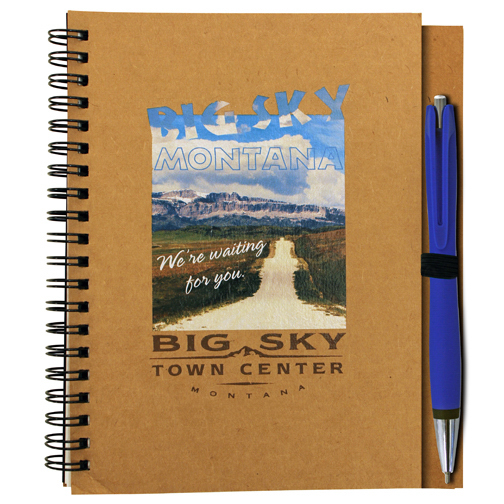 Item #80-44070 Stone Paper Notebook, Full Color Digital