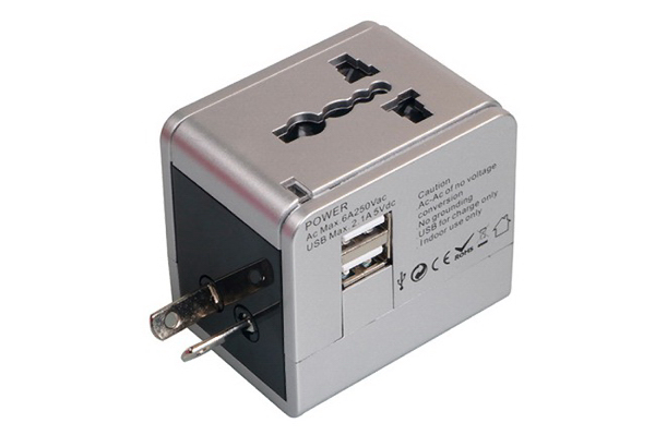Item #WP-1009 Multi-Nation Travel Adapter