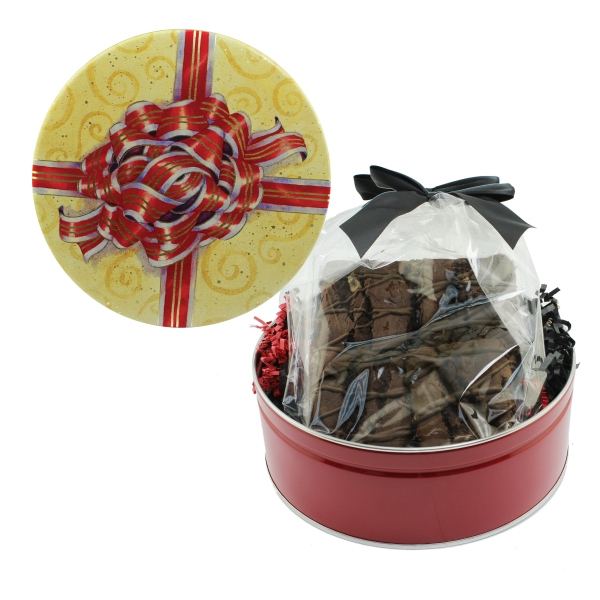 Item #GT2G-BROWNIE The Royal Cookie Tin - Jumbo Brownie