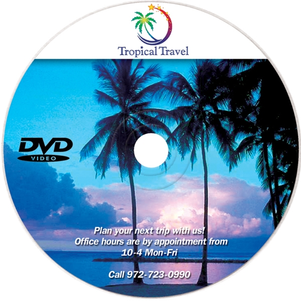 Item #88901 DVDR - Blank/Recordable, Full Color Digital