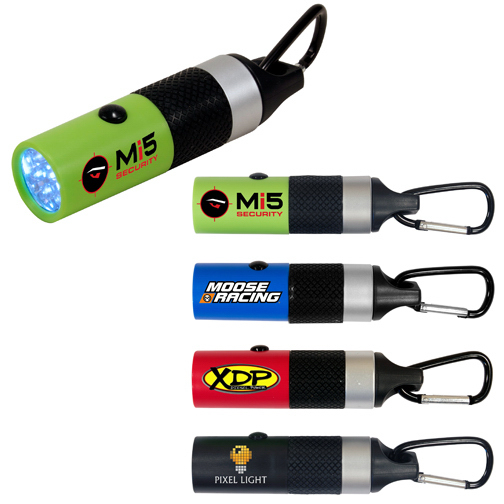 Item #80-89152 Carabineer LED Flashlight, Full Color Digital
