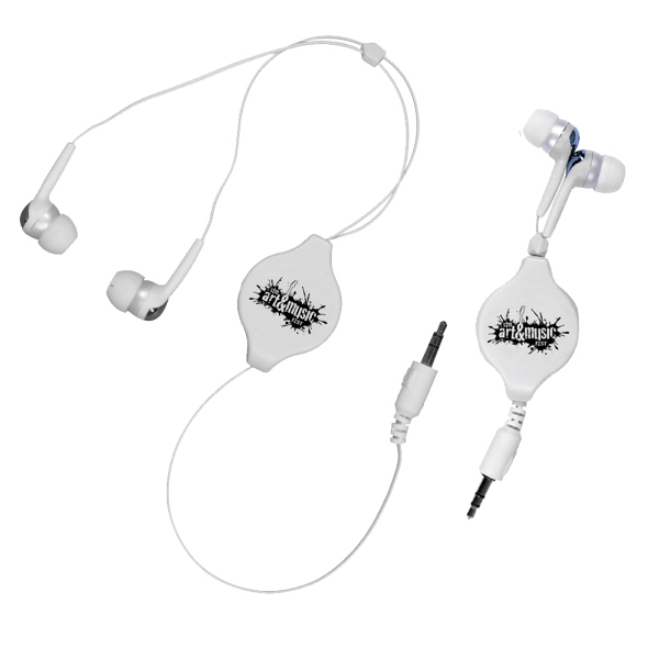 Item #44800 Retractable Ear Buds
