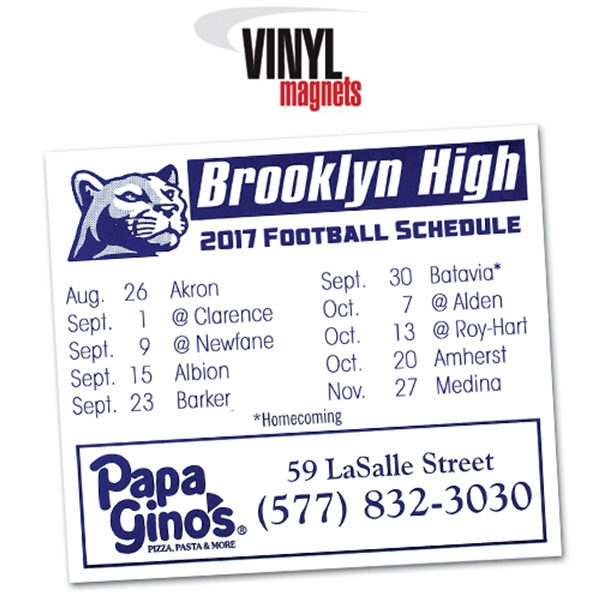 Item #30220 Schedule Magnet