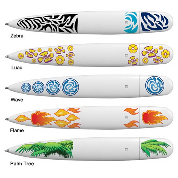Item #80-16700 Surfboard Pen, Full Color Digital