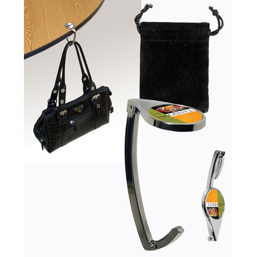 Item #80-49010 Purse Hook, Full Color Digital