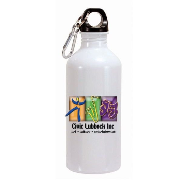 Item #80-68622 22 Oz. Aluminum Trek ll Bottle, Full Color Digital Direct