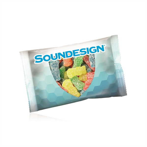 Item #DSP-SPK 1/2oz. Full Color DigiBag with Sour Patch Kids