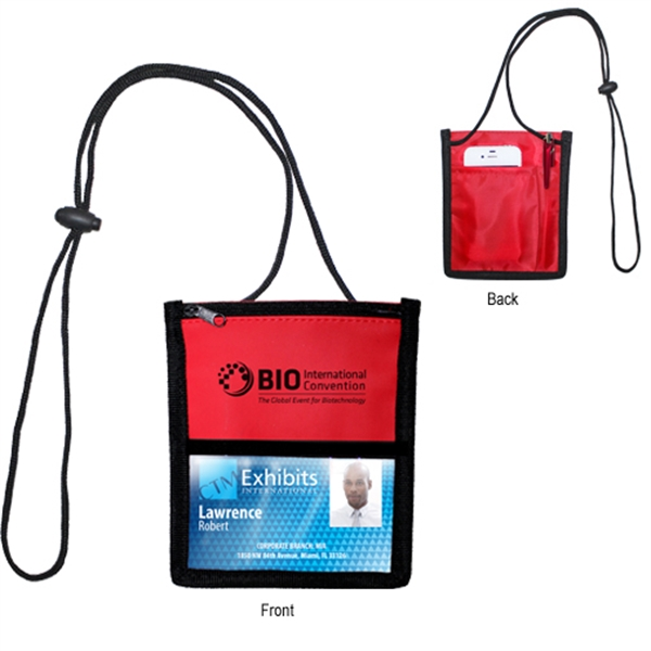 Item #42860 Tradeshow Badge Holder - Closeout