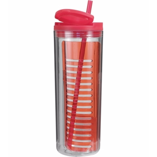 Item #80-74020 20 oz. Infuser Tumbler, Full Color Digital