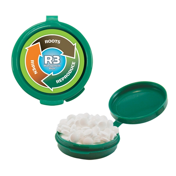 Item #HG-MINTS Hook-N-Go Plastic Pill Case with Mints