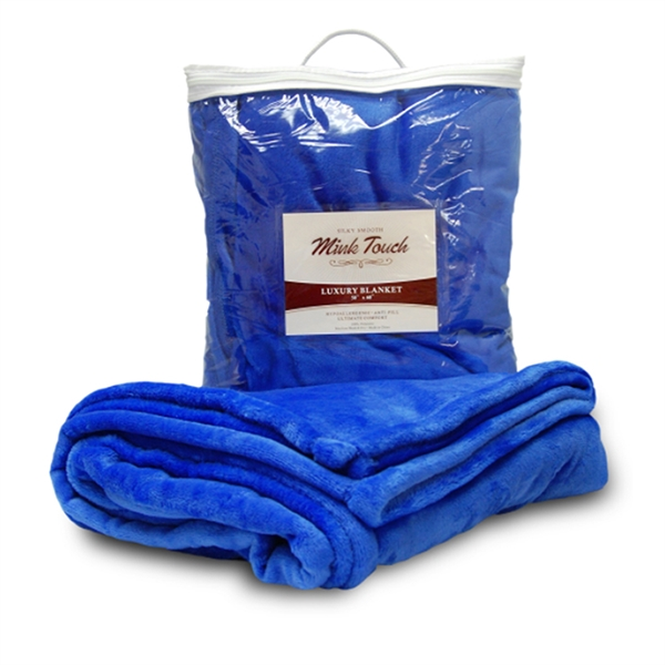 Item #BK650 Luxewood Mink Touch Blanket