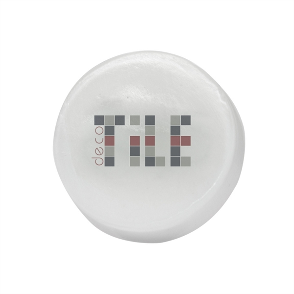 Item #SOAP-ROUND Round Soap With Logo