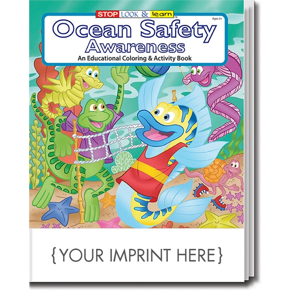 Item #0297 Ocean Safety Awareness Coloring Book