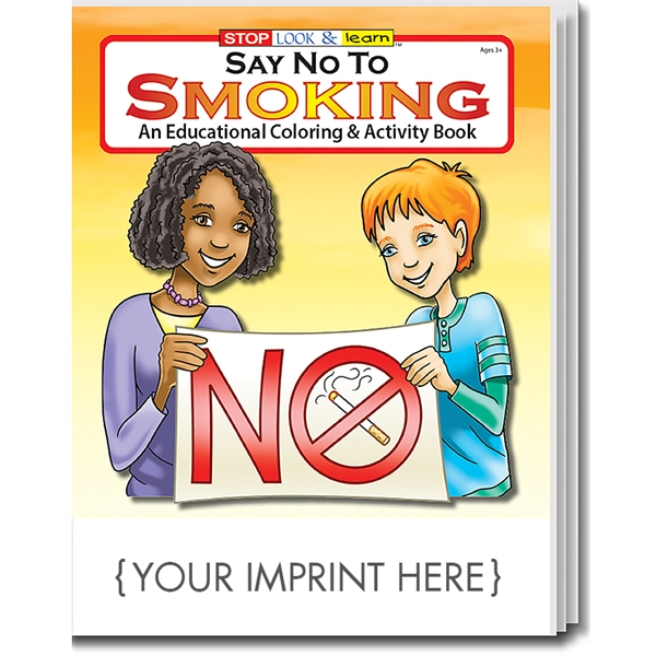 Item #0125 Say No to Smoking Coloring Book