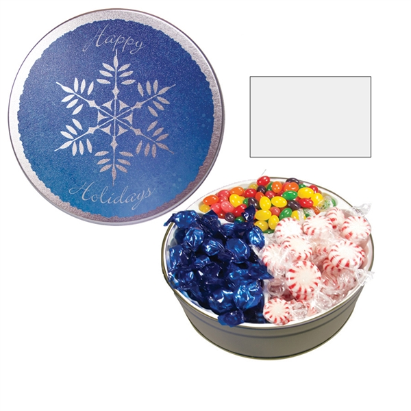 Item #GT1BSF-FOOD The Grand Tin with Starlite Mints, Jelly Beans & Hard Candy