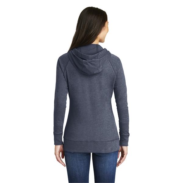 1305ec3c230 New Era Ladies Sueded Cotton Blend Full-Zip Hoodie. - Item  LNEA122 ...