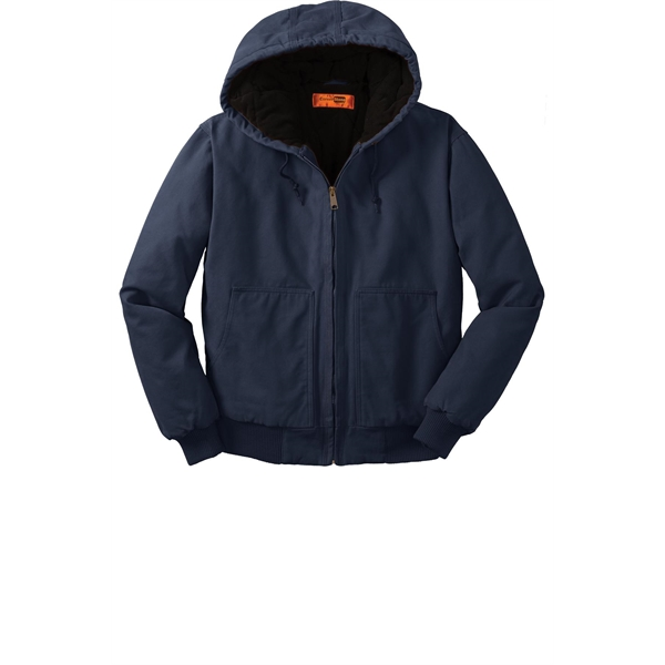 3993b740bec Item  CSJ41 CornerStone Washed Duck Cloth Insulated Hooded Work Jacket.