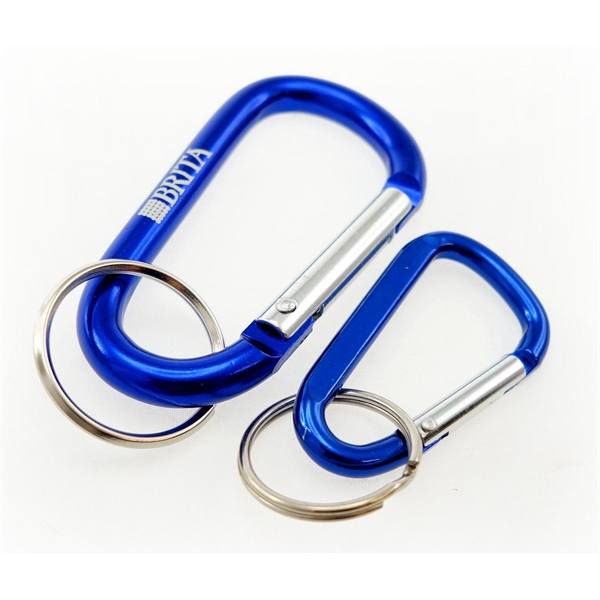 Item #CARSTD-3D Laser Engraved Carabiners (3 Day Service)