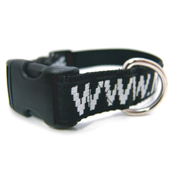 Item #COLR-CWV-OCN Ocean Imported Coarse Weave Pet Collar