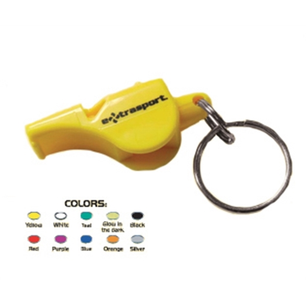 Item #WHISTLE-FC Full Color Domed Whistle