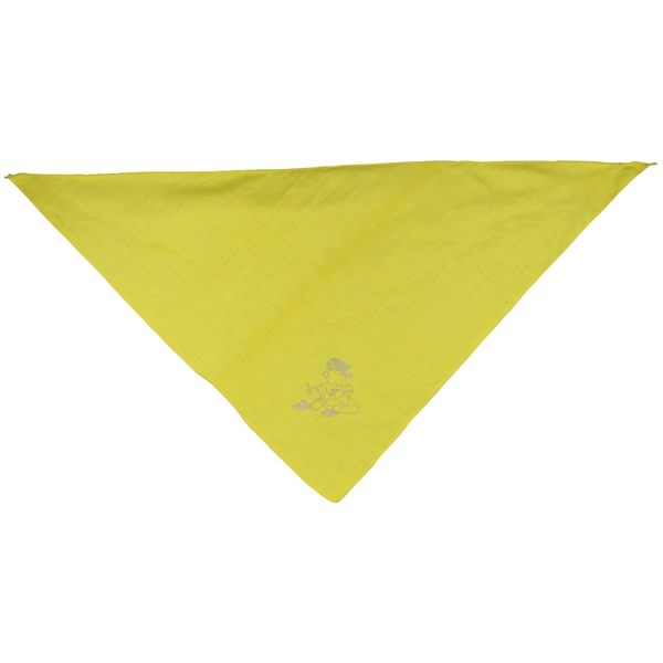 Item #BA151 Pet triangle bandanna without reflective binding - medium